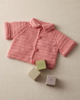 Free Crochet Pattern for Cardigan-Free baby Crochet Patterns