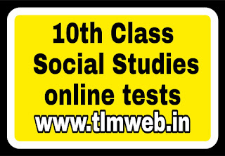 10th Class Social Studies online tests