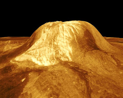 Volcanic activity on Venus, and also other objects in solar system, are contrary to secular presuppositions.