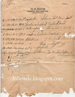 O O Davis list of jobs https://jollettetc.blogspot.com
