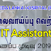 Vacancy In Ayurveda Lanka Hospital (Pvt) Ltd.  Post Of - IT Assistant