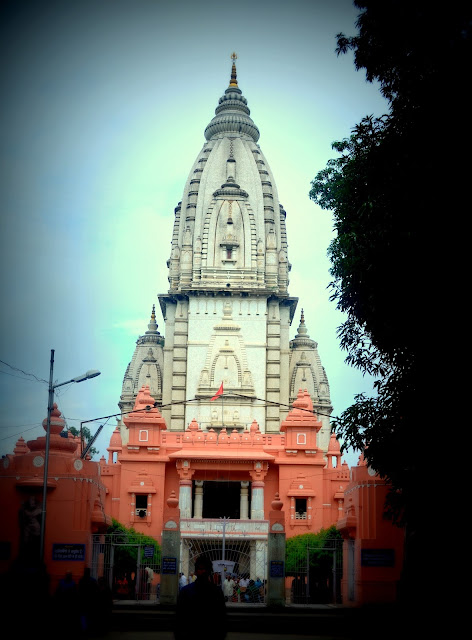New Kashi Vishwanath Temple at Banaras Hindu University(BHU), Varanasi