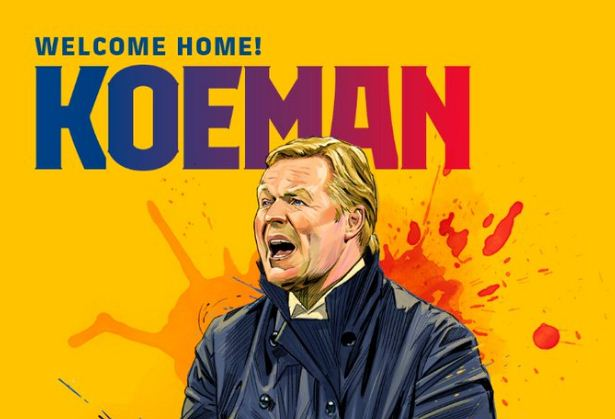 Resmi, Ronald Koeman Pelatih Baru Barcelona
