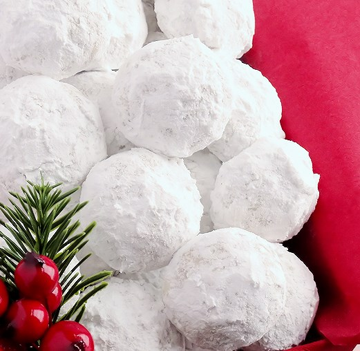 Snowball Christmas Cookies {best ever} #desserts #christmas