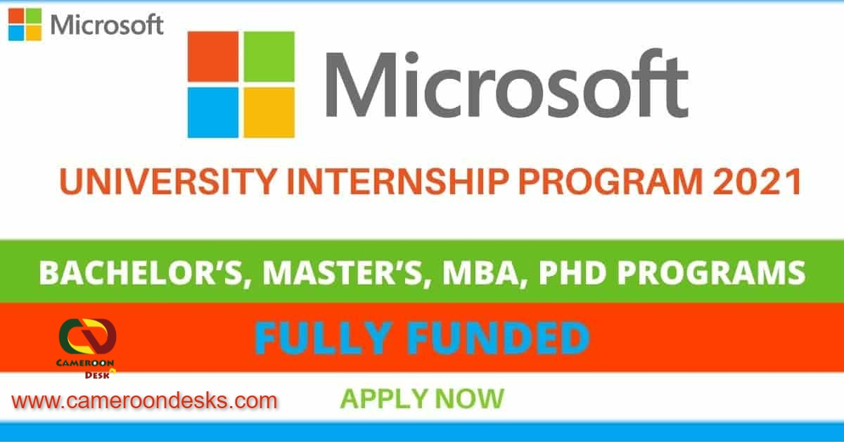 Microsoft Paid Internship Program 2021