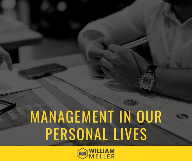 Management in our personal lives