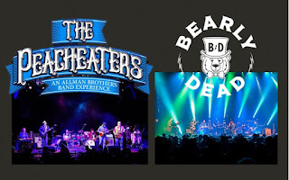The Peacheaters and Bearly Dead to play THE BLACK BOX on Black Friday