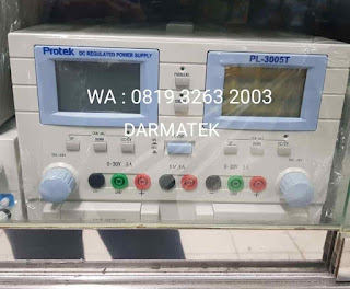 Darmatek Jual Potek PL-3005T Triple DC Regulated Power Supply Harga Ekonomis