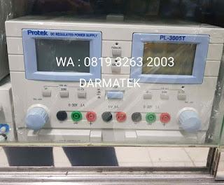Darmatek Jual Potek PL-3005T Triple DC Regulated Power Supply Harga Ekonomis