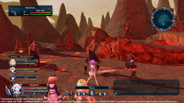 Cyberdimension Neptunia: 4 Goddesses Online Free Download Screenshot 1
