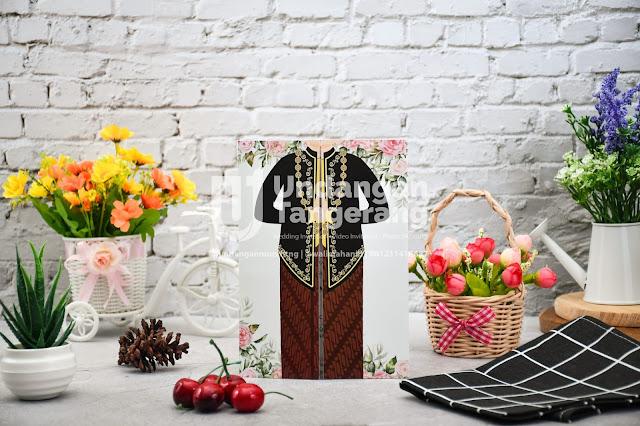 Undangan Pernikahan Adat Jawa dan Tema Florist - Walimahanid | 0812-1141-8687