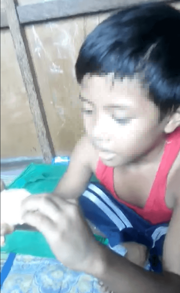 Mom scolds son for wasting his food money, but kid actually saved it for eye check-up