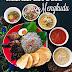 Nasi Kerabu Daun Mengkudu //Nasi Kerabu Hitam