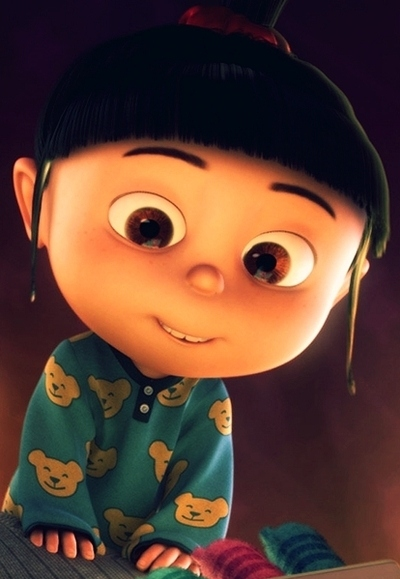 Flying Like Butterfly: Gambar Agnes-Despicable Me