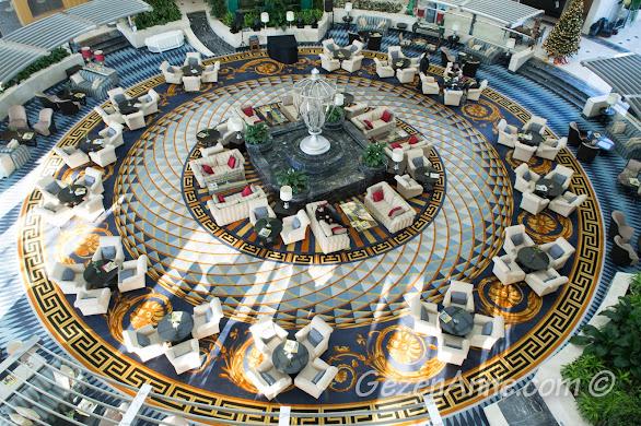 Antalya'daki büyük otellerin etkileyici ortamı