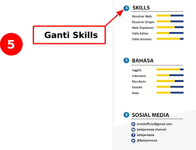 CV Creatif docx : Download Curriculum Vitae Microsoft Word Gratis