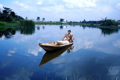 Wisata Danau Cipule di karawang