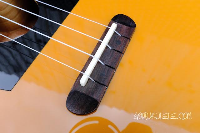 Fender Fullerton Tele Ukulele bridge