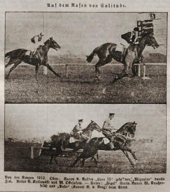 1912 год. Рига. Скачки на ипподроме Золитуде