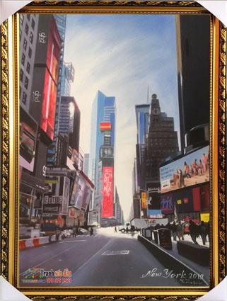 tranh phong cảnh new york