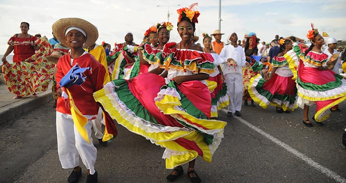 worlds culture and people: Colombia culture