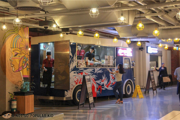 Katsu Sora (Food Truck) in The Garage, City of Dreams