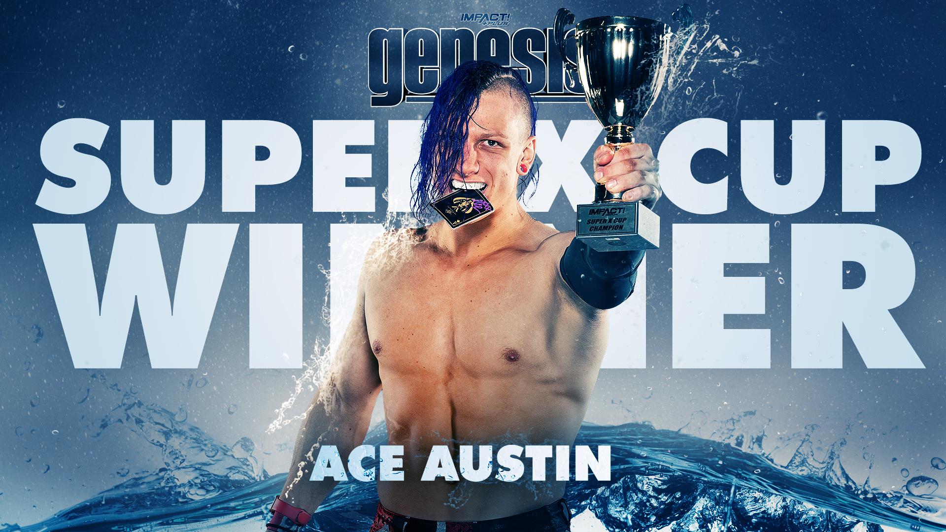 Ace Austin vence a Super X Cup na IMPACT Wrestling