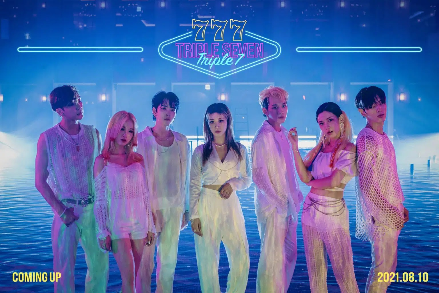 Co-Ed Triple7 Pose Together in Debut Teaser