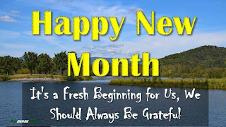 Happy new month Photos, Quotes, Messages and prayers for March 2020