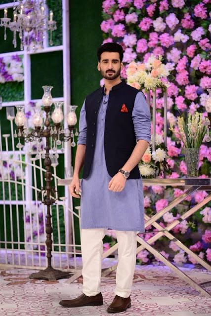 Good Morning Pakistan | Hina Altaf and Agha Ali Awesome Pictures