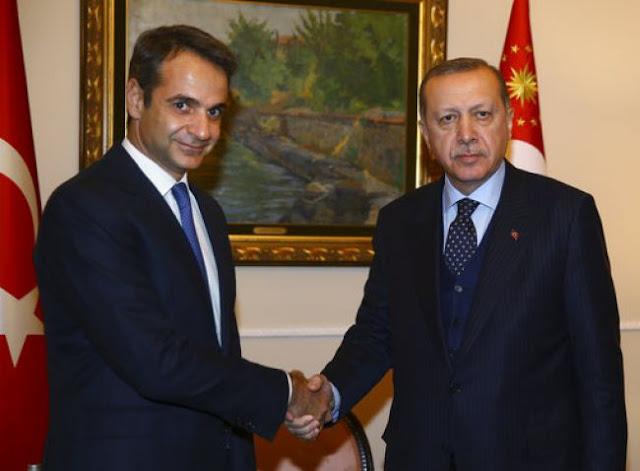 Μητσοτάκης-Ερντογάν: Συνάντηση χωρίς... μεγάλες προσδοκίες