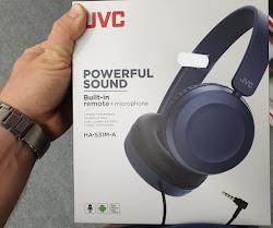 JVC HA-S31M headphones
