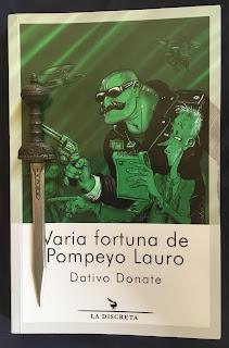 Portada del libro Varia fortuna de Pompeyo Lauro, de Dativo Donate