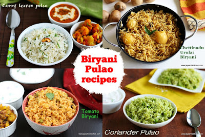 Biryani pulao recipes