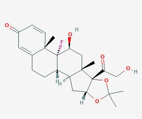 Triamcinolone acetonide Structure
