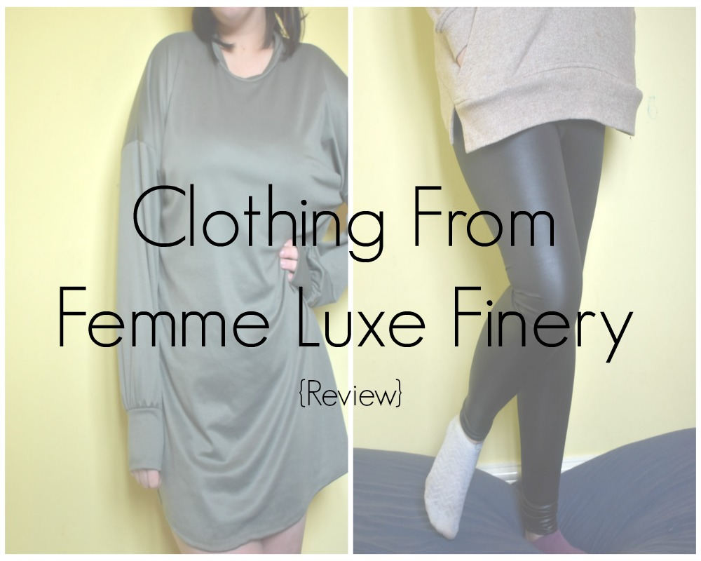 Clothing From Femme Luxe Finery