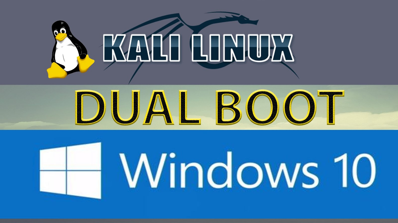 how to dual boot windows 10 and kali linux - AndroNymous