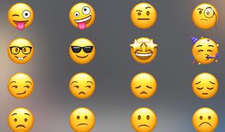 Novos emojis para iPhone (iOS 13.3) no Android 2020