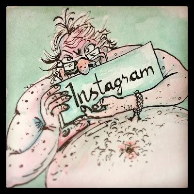 Mirroy postet auf Instagram, Comic-Kurs Sommerakademie Gmünd