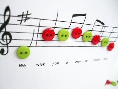 #SEGUNDA NATALINA - Enfeites com Partituras de Música e 15 Canções de Natal