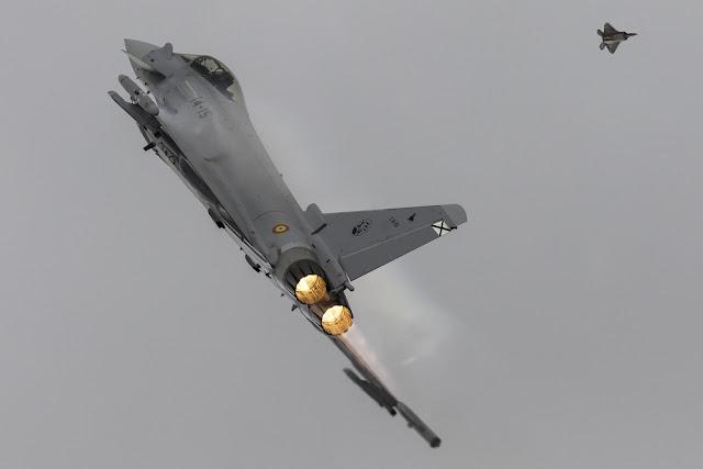 USAF F-22 Raptor Albacete exercise