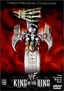 WWE / WWF King of the Ring 2000 - Event poster