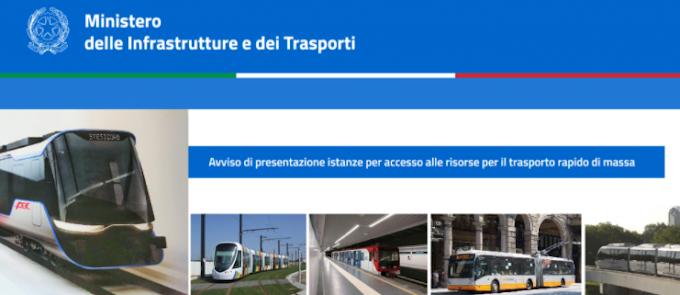 Istanze MIT: i fondi TRM per Roma nel 2021