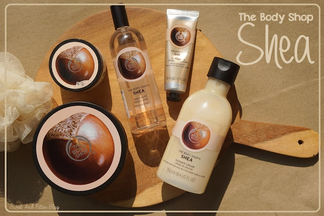 The Body Shop Shea Body Butter, Scrub, Shower Cream, Hand Cream, and Body Mist Review
