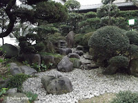 Another view of a beautifully manicured private garden in Nagasaki, Japan