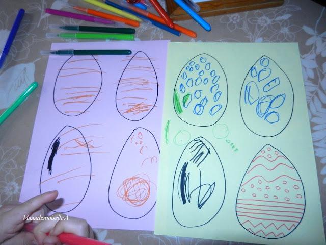 || Activité : Les oeufs graphiques de Pâques