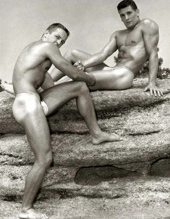 Homo History: Beachcake: Vintage Gay Beefcake on the Beach