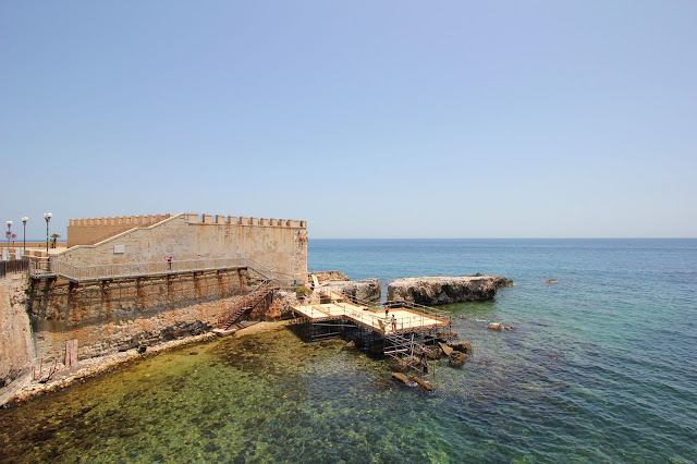 Sea Ortigia Sicily Italy Photo Diary Uk Blogger Iga Berry