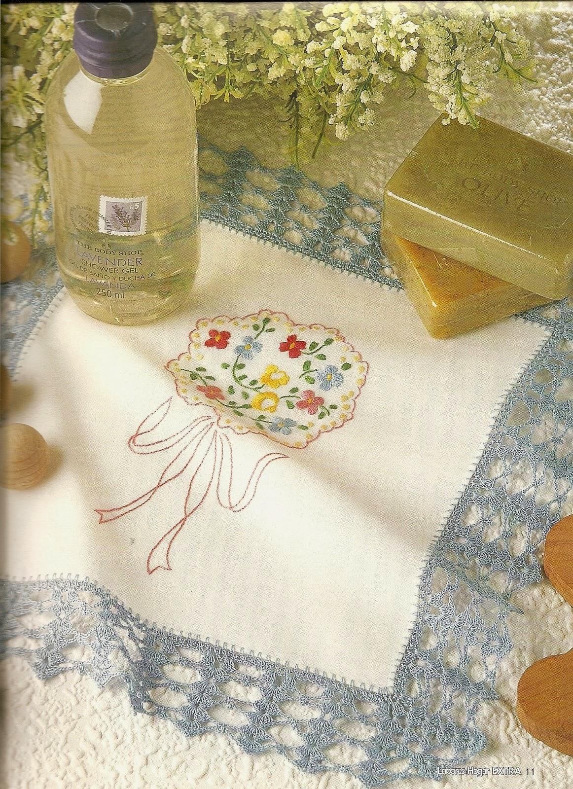 Labores para el hogar en crochet revistas de - Manualidades de tela para el hogar ...