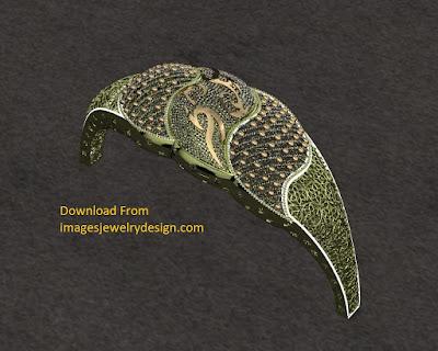 Free download 3D rendering bracelet design